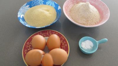 Ingrédients pour la recette : Pâtes fraîches papillons à la semoule de blé