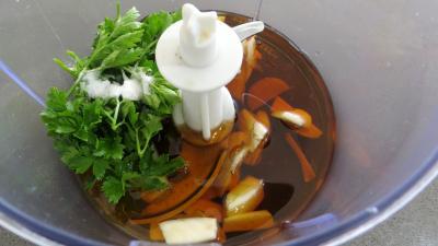 Sauce à la courgette au sésame - 4.3