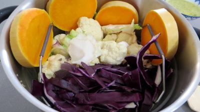 Chou-fleur et légumes vapeur - 1.1