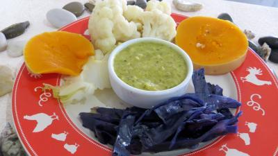 Recette Assiette de chou-fleur et légumes vapeur