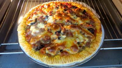 Pizza pauvre homme - 7.3