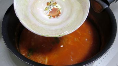 Tagliatelles fraîches aux épinards et sa sauce au vésuve - 6.4