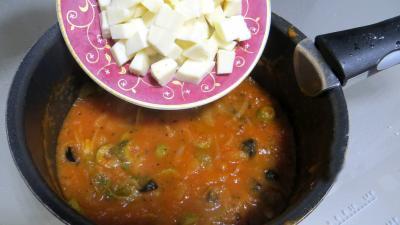 Tagliatelles fraîches aux épinards et sa sauce au vésuve - 7.4
