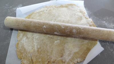 Tarte au caramel aux mendiants - 1.1