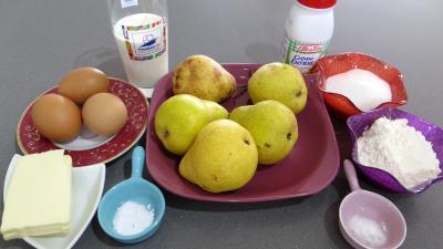 Ingrédients pour la recette : Gargouillau aux poires revisité