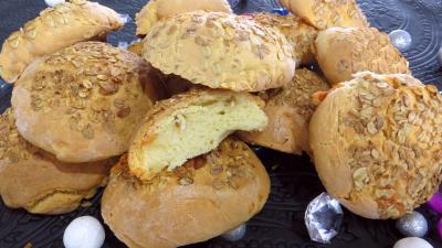 brie : Boules de pain au brie
