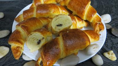 Recette Croissants variés et chocolat