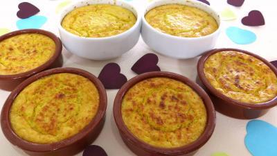 chou chinois pe-tsai : Cassolettes de chou chinois au fromage de chèvre frais