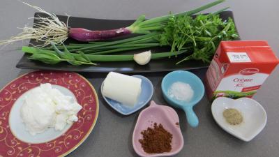 Ingrédients pour la recette : Sauce aux herbes fraîches