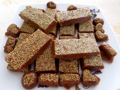 Recette Caramels aux cacahuètes