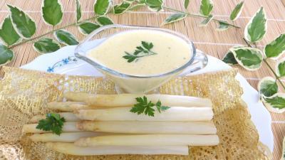 Recette Asperges sauce mousseline revisitées