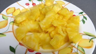 Filets de truite aux amandes et ananas - 2.1