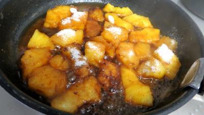 Filets de truite aux amandes et ananas - 8.4