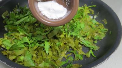 Sauce tagliatelles à l'ail et à l'oseille - 4.1