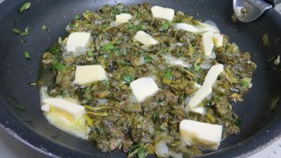 Sauce tagliatelles à l'ail et à l'oseille - 4.3