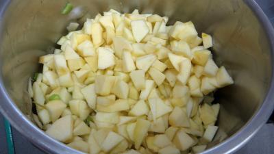Confiture de pommes à la rhubarbe façon compote - 3.3