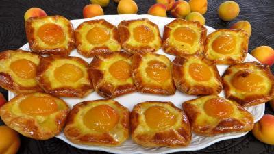 Recette Abricots à la danoise