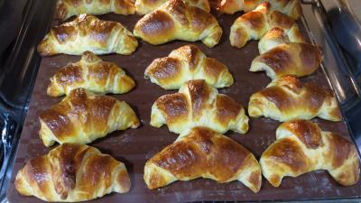 Croissants à la crème aux abricots - 13.3