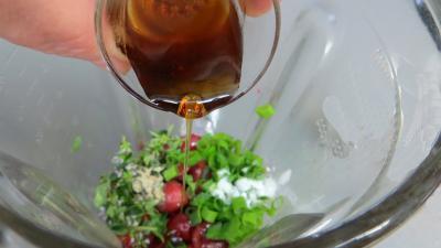 Sauce aux cerises et ses blancs de poulet - 3.3