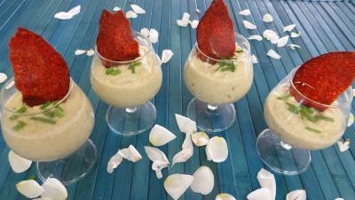 verrines salées : Verrines de chou-fleur en amuse-bouche