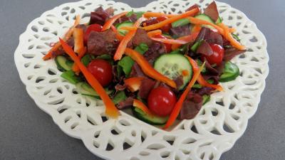 Salade d'été aux abricots - 4.4