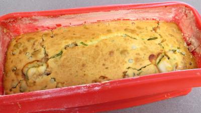 Cake à la saumonette et petits pois - 6.3