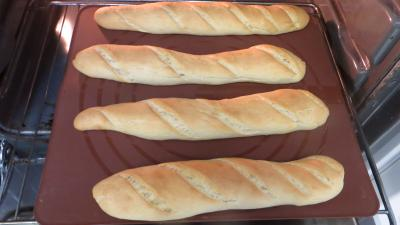 Baguettes de pain de mie - 7.2
