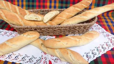 Recette Panier de baguettes de pain de mie