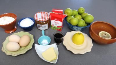 Ingrédients pour la recette : Clafoutis aux nashis