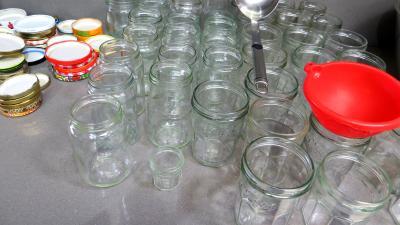 Confiture de prunes jaunes à la rhubarbe - 1.1