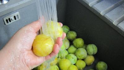 Confiture de prunes jaunes à la rhubarbe - 3.3