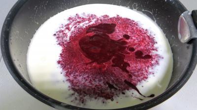 Glace ou crème glacée aux mûres - 5.1