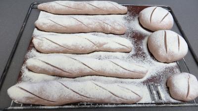 Baguettes et miches à la sangria - 6.2
