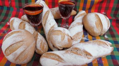 Baguettes et miches à la sangria - 6.4