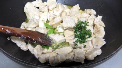 Blancs de poulet sautés dauphinois - 4.2