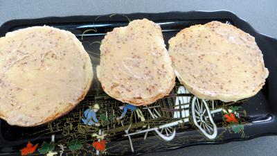 Tartines de pain aux aubergines - 5.1