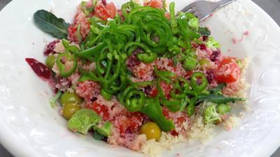 Salade de couscous aux physalis - 6.3