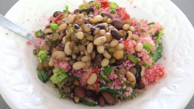 Salade de couscous aux physalis - 7.1