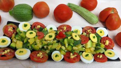 Recette Salade de courgette