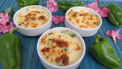 Cassolettes de poivrons au poulet épicé - 9.3