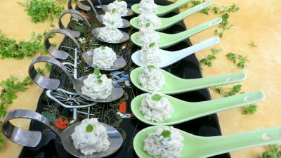 Recette Cuillères au fromage blanc