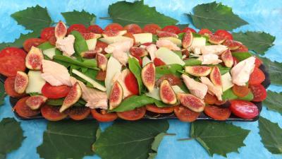Recette Salade de truite