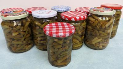 Stérilisation des haricots verts - 7.1