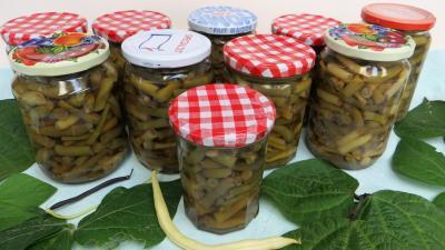 Recette Pots stérilisés d'haricots verts