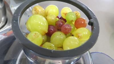 Gelée de raisins à la rhubarbe - 2.1
