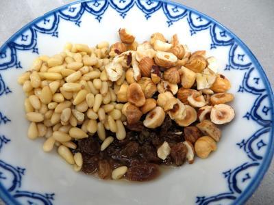 Couronnes de pain de mie aux fruits secs - 5.1