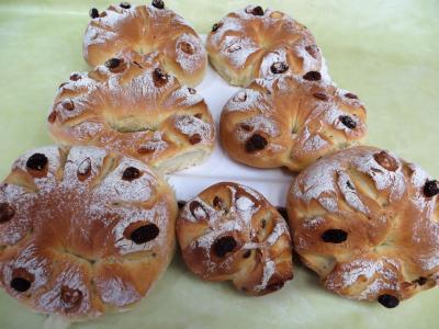 Recette Couronnes de pain de mie aux fruits secs