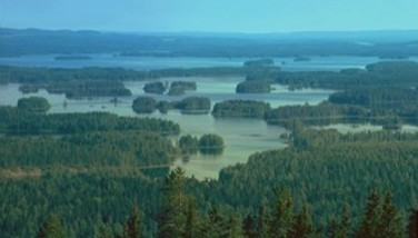 Photo : Région des lacs de Finlande
