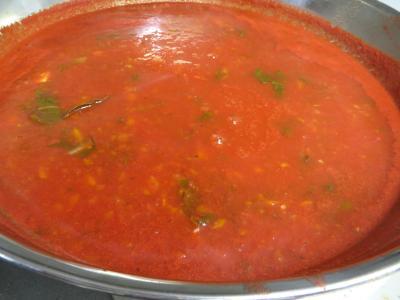 Sauce tomates aux carottes (conserves) - 7.3