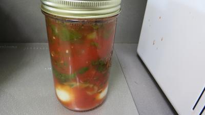 Sauce tomates aux oeufs (conserves) - 9.2